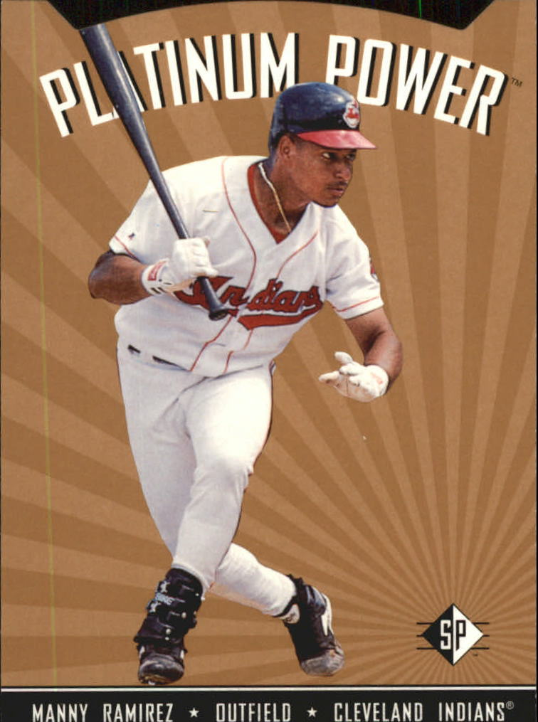 1995 SP Platinum Power #PP15 Manny Ramirez
