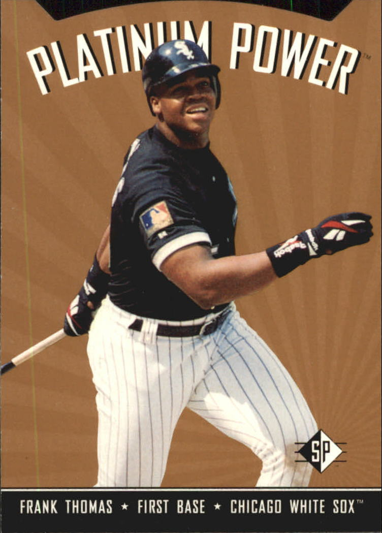 1995 SP Platinum Power #PP18 Frank Thomas