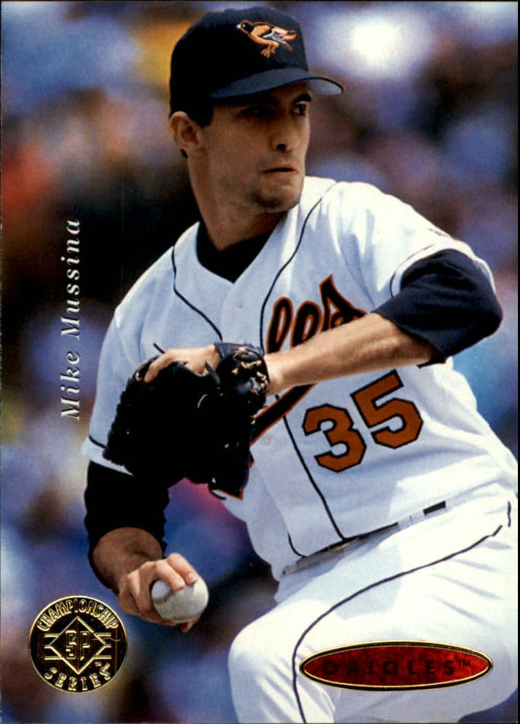 1995 SP Championship #117 Mike Mussina