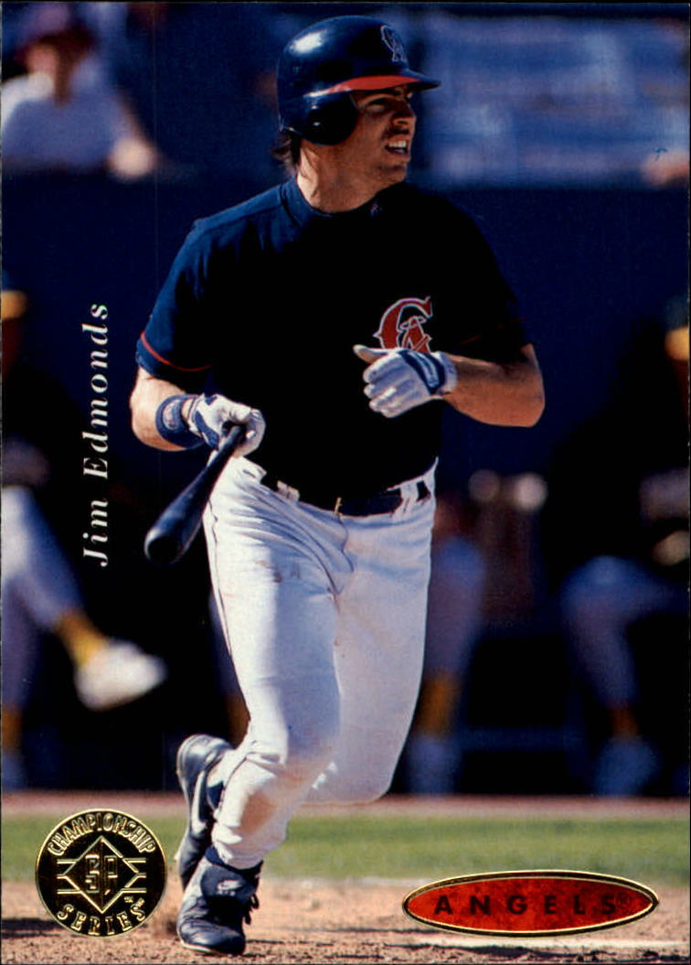 1995 SP Championship #131 Jim Edmonds