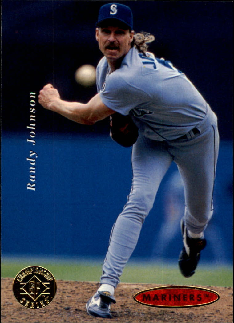 1995 SP Championship #186 Randy Johnson