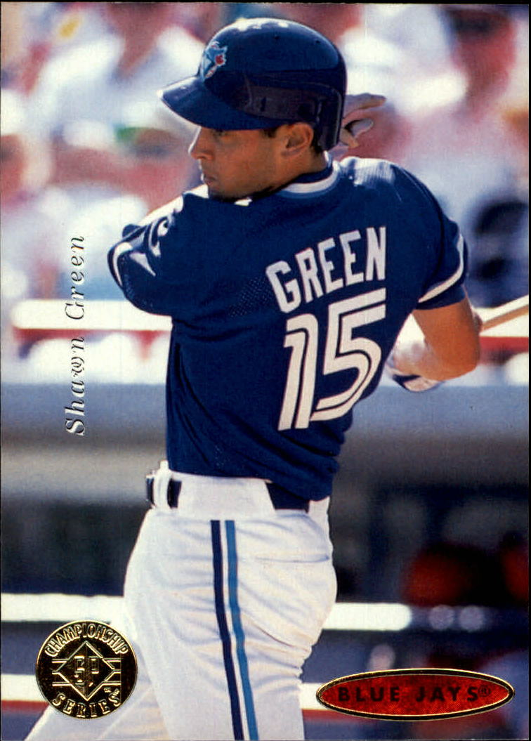 1995 SP Championship #199 Shawn Green