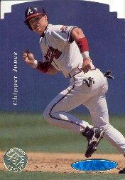 1995 SP Championship Die Cuts #26 Chipper Jones