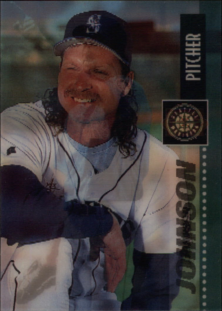 1995 Sportflix #29 Randy Johnson