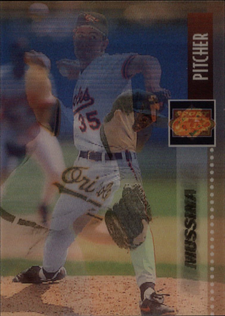 1995 Sportflix #60 Mike Mussina