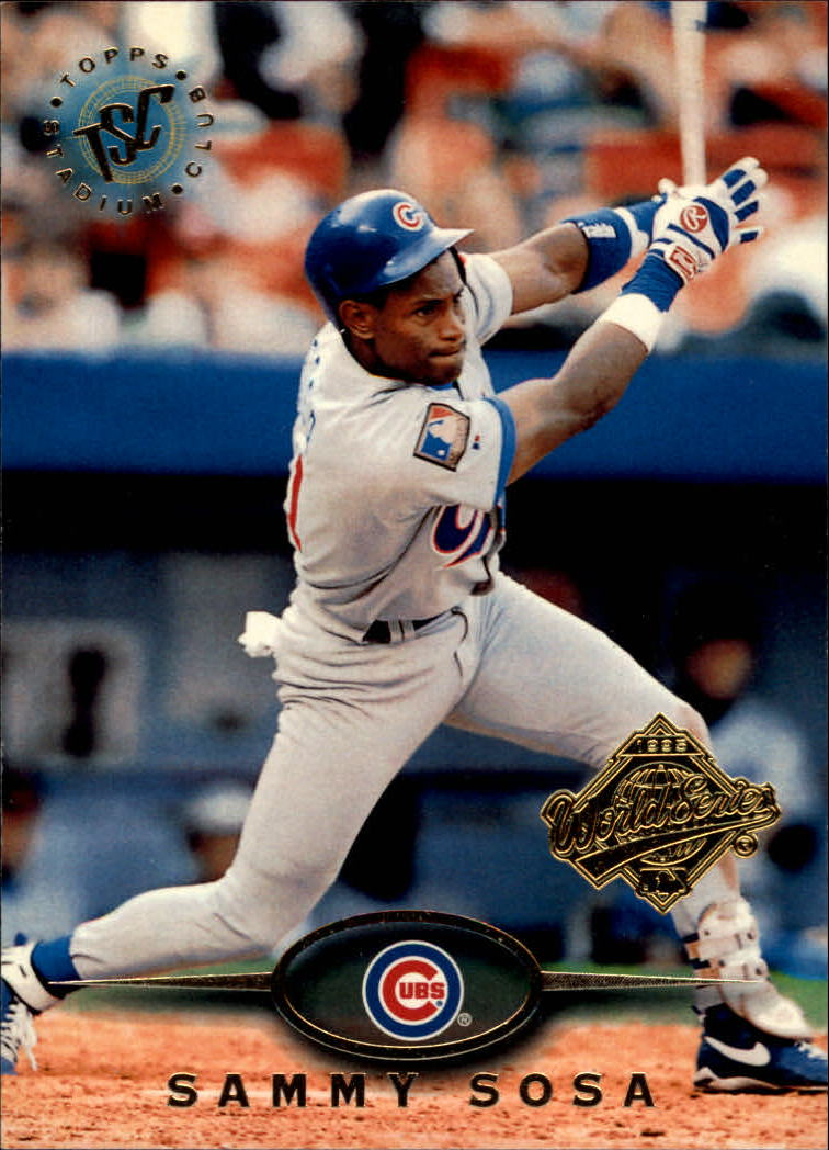1995 Stadium Club Super Team World Series #174 Sammy Sosa