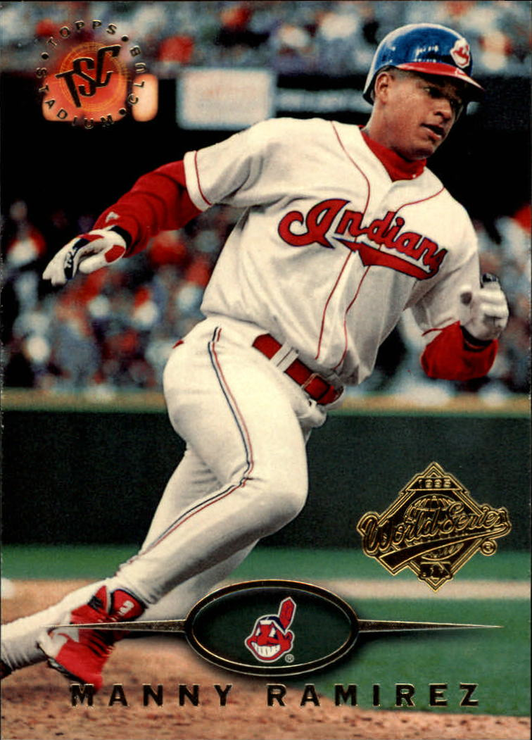 1995 Stadium Club Super Team World Series #264 Manny Ramirez