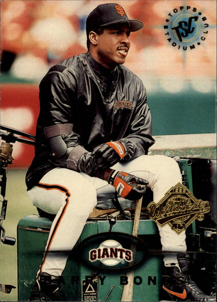1995 Stadium Club Super Team World Series #271 Barry Bonds