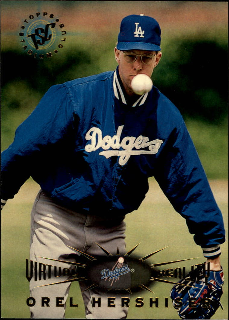 1995 Stadium Club Virtual Reality #26 Orel Hershiser