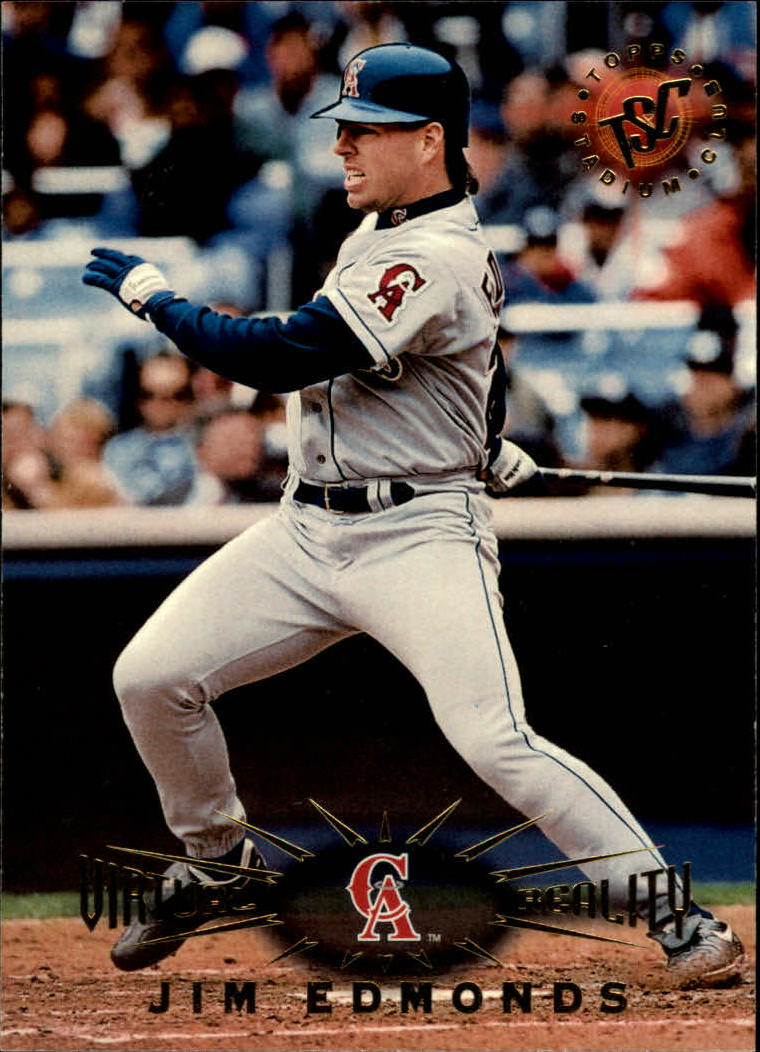 1995 Stadium Club Virtual Reality #29 Jim Edmonds