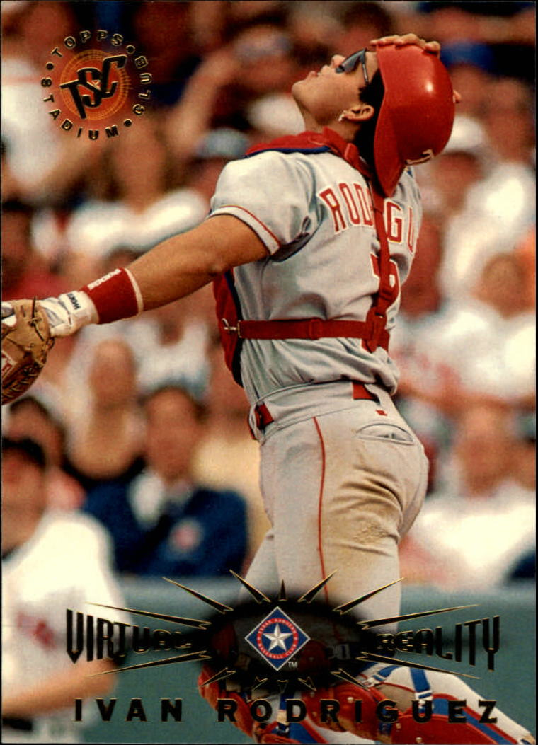 1995 Stadium Club Virtual Reality #103 Ivan Rodriguez