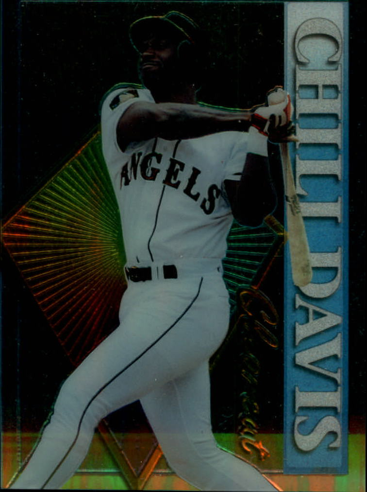 1995 Stadium Club Clear Cut #CC8 Chili Davis