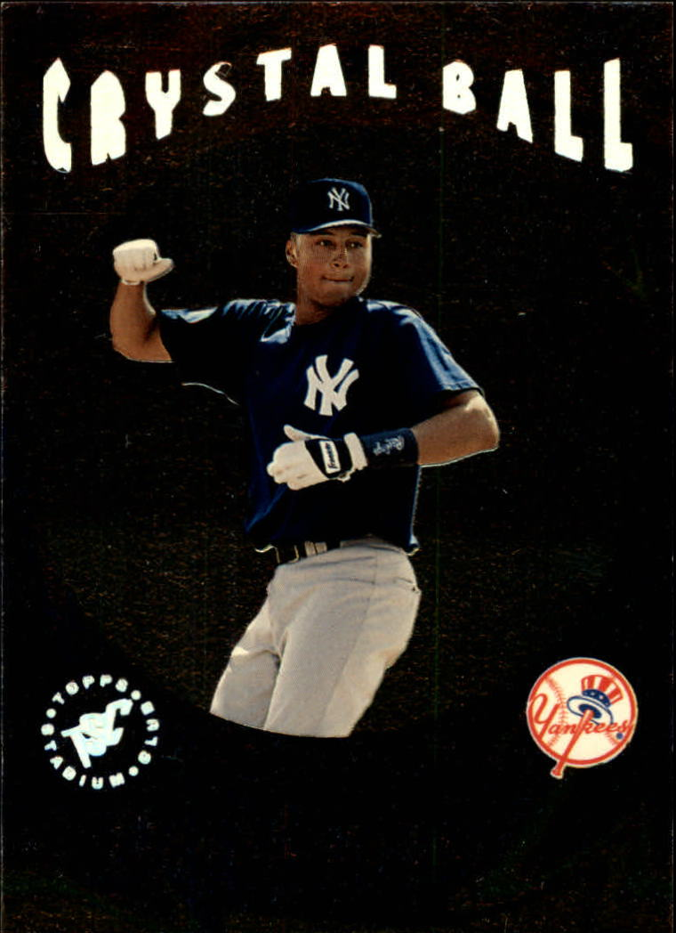 1995 Stadium Club Crystal Ball #CB14 Derek Jeter