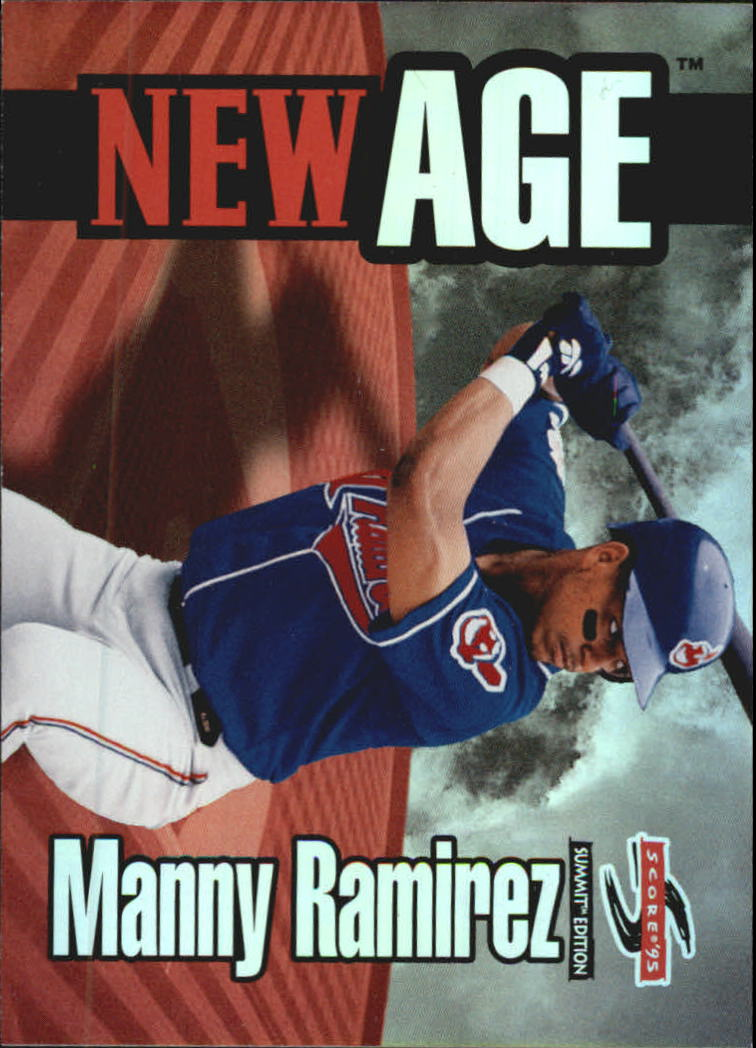1995 Summit New Age #NA2 Manny Ramirez