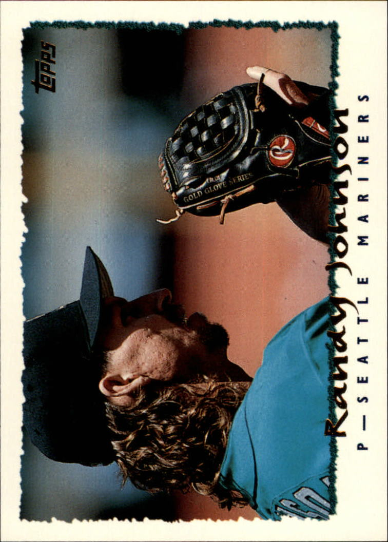 1995 Topps #203 Randy Johnson
