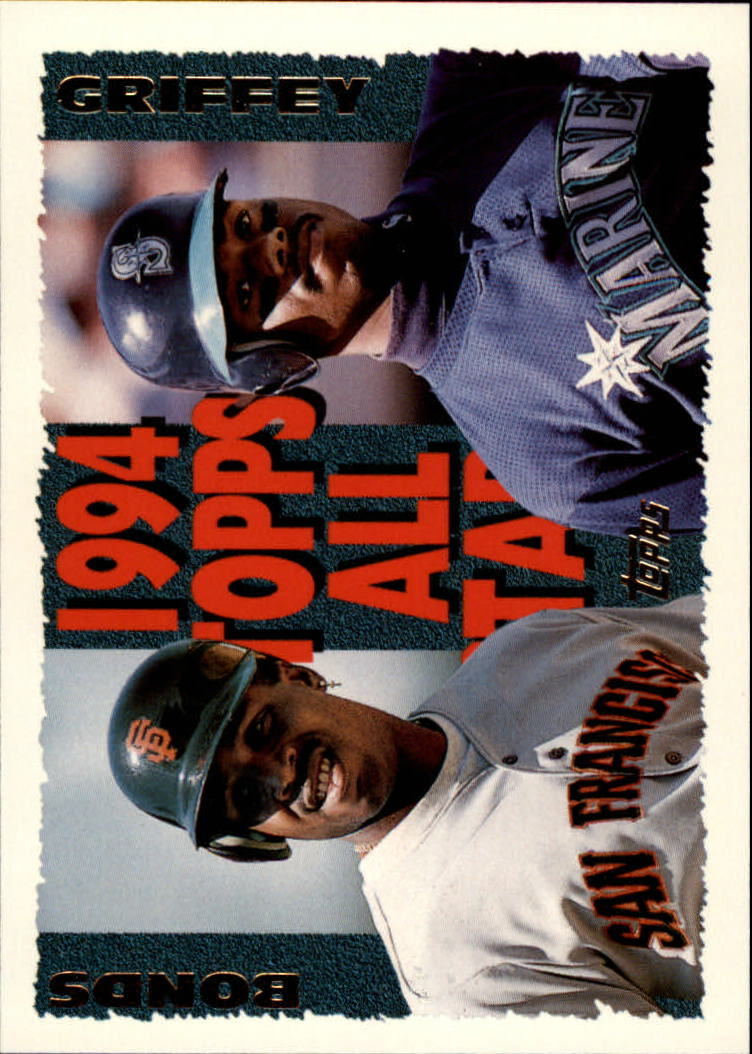 1995 Topps #388 K.Griffey Jr./B.Bonds AS