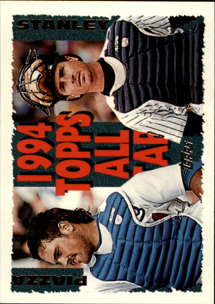 1995 Topps #391 M.Piazza/M.Stanley AS