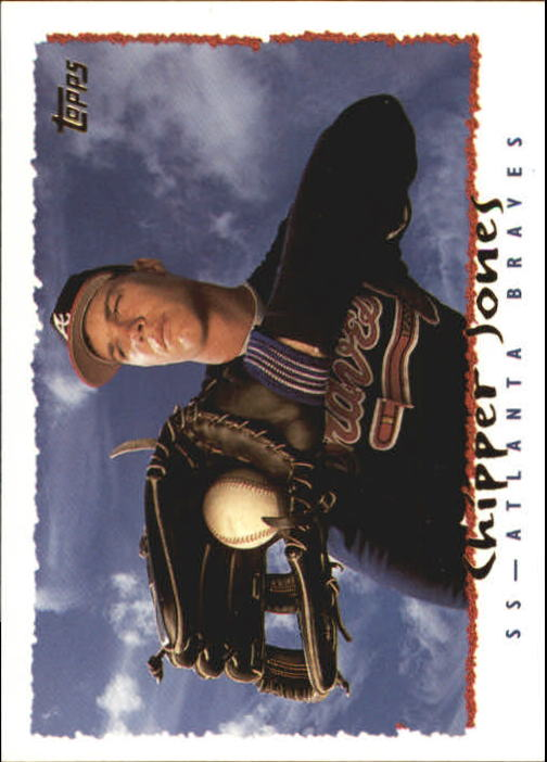 1995 Topps #535 Chipper Jones
