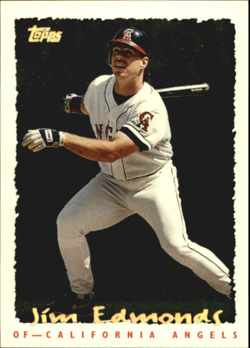 1995 Topps Cyberstats #104 Jim Edmonds