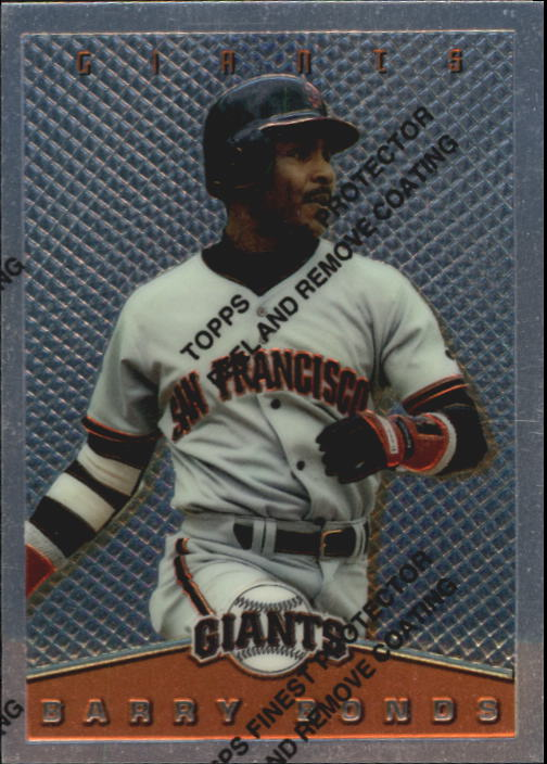 1995 Topps Finest Inserts #7 Barry Bonds