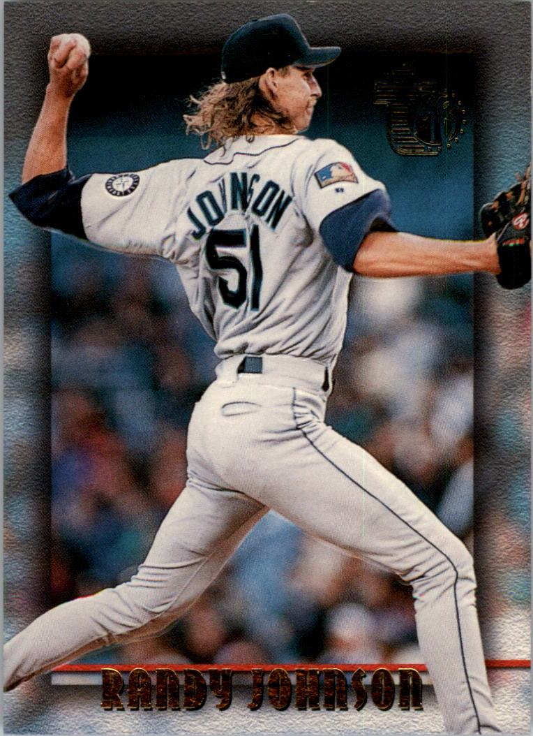 1995 Topps Embossed #69 Randy Johnson