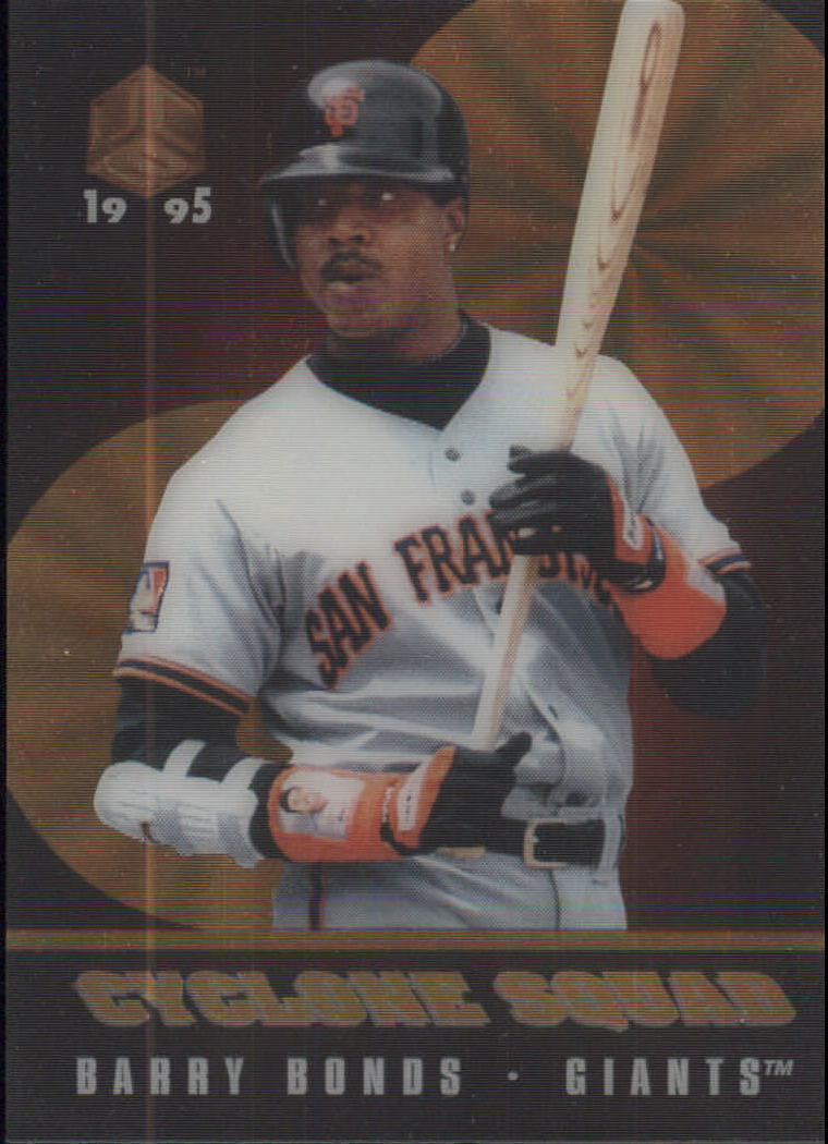 1995 UC3 Cyclone Squad #CS5 Barry Bonds