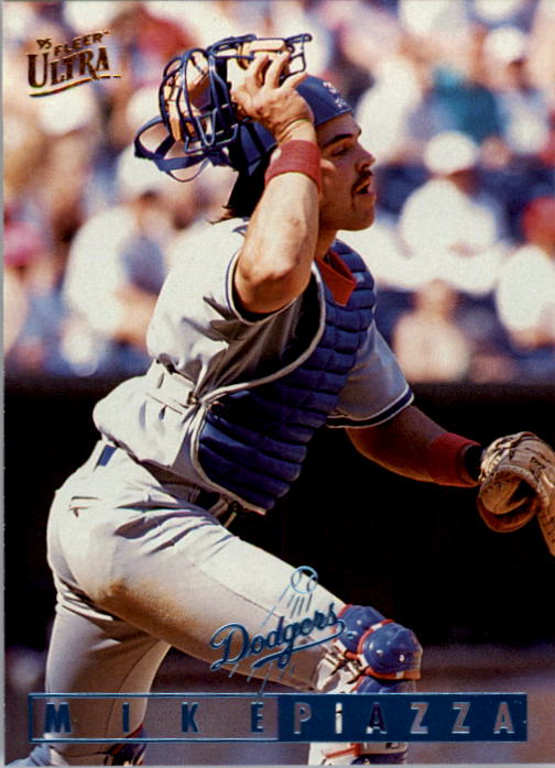 1995 Ultra #399 Mike Piazza