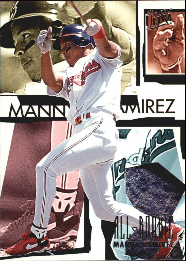 1995 Ultra All-Rookies #9 Manny Ramirez