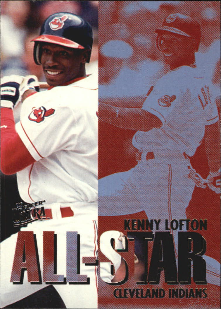1995 Ultra All-Stars #11 Kenny Lofton