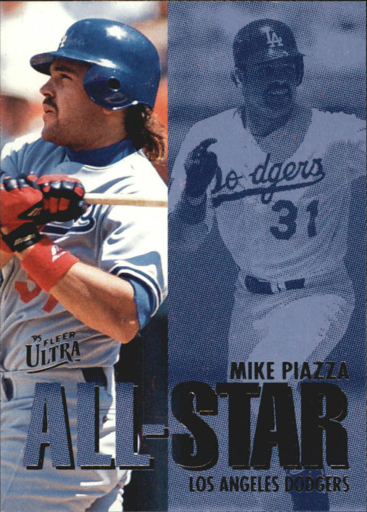 1995 Ultra All-Stars #15 Mike Piazza