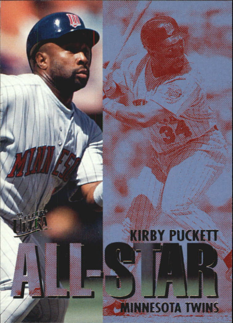 1995 Ultra All-Stars #16 Kirby Puckett