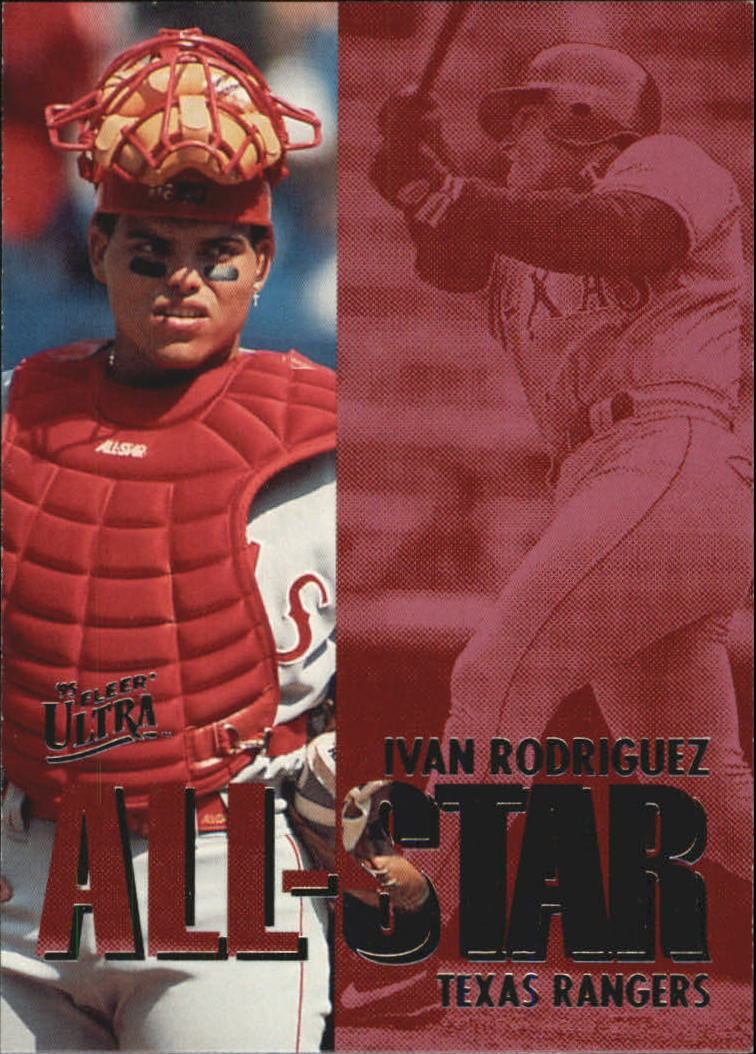 1995 Ultra All-Stars #18 Ivan Rodriguez