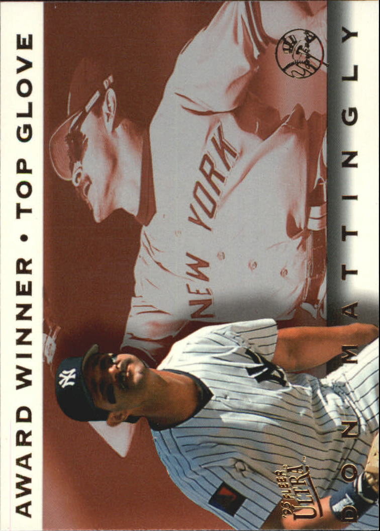 1995 Ultra Award Winners #2 Don Mattingly