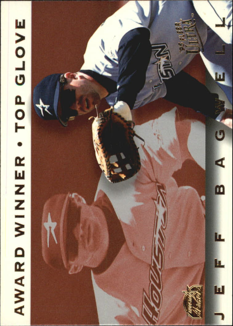 1995 Ultra Award Winners #11 Jeff Bagwell