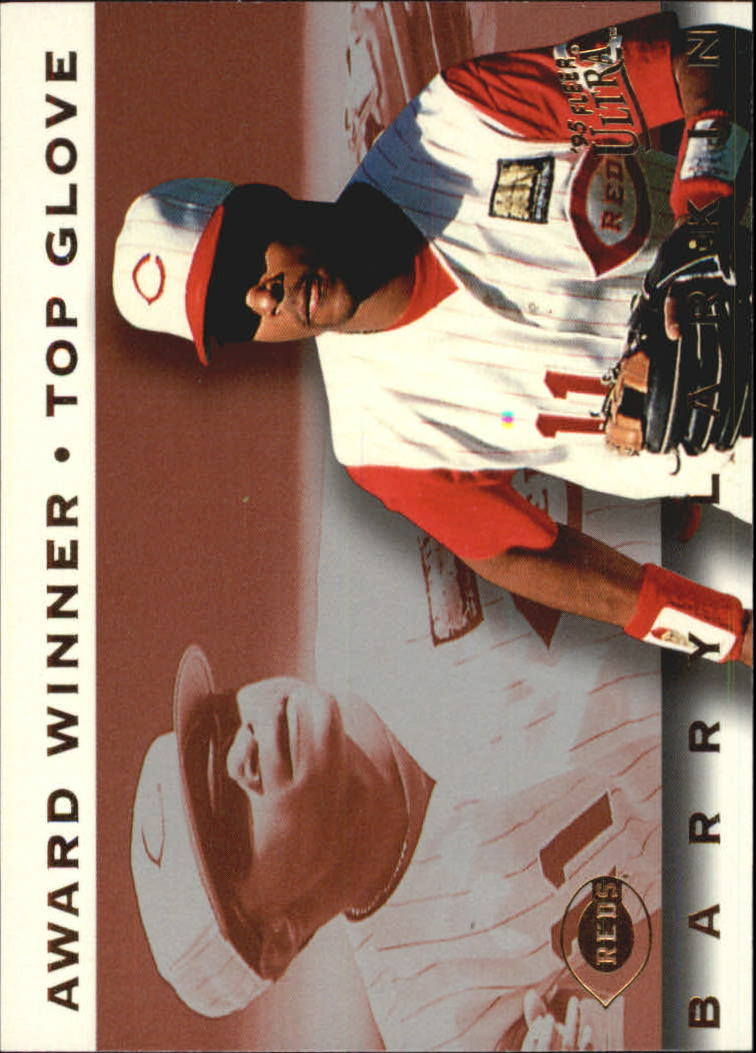 1995 Ultra Award Winners #14 Barry Larkin