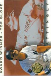 1995 Ultra Award Winners Gold Medallion #2 Don Mattingly