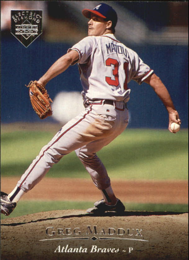1995 Upper Deck Electric Diamond #49 Greg Maddux