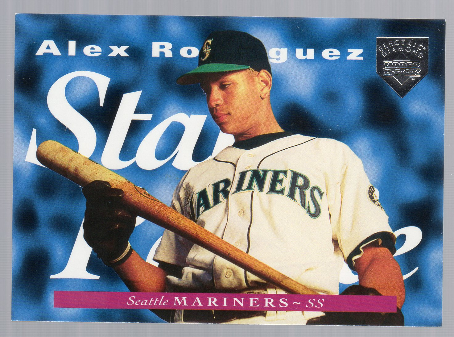 1995 Upper Deck Electric Diamond #215 Alex Rodriguez
