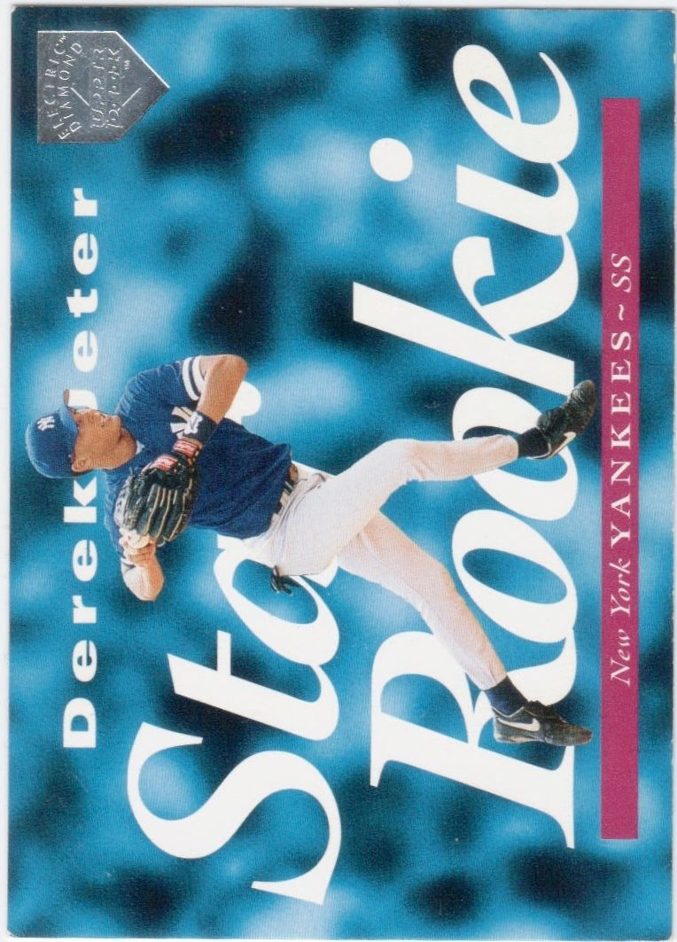 1995 Upper Deck Electric Diamond #225 Derek Jeter
