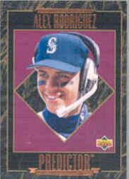 1995 Upper Deck Predictor Award Winners #H15 Alex Rodriguez