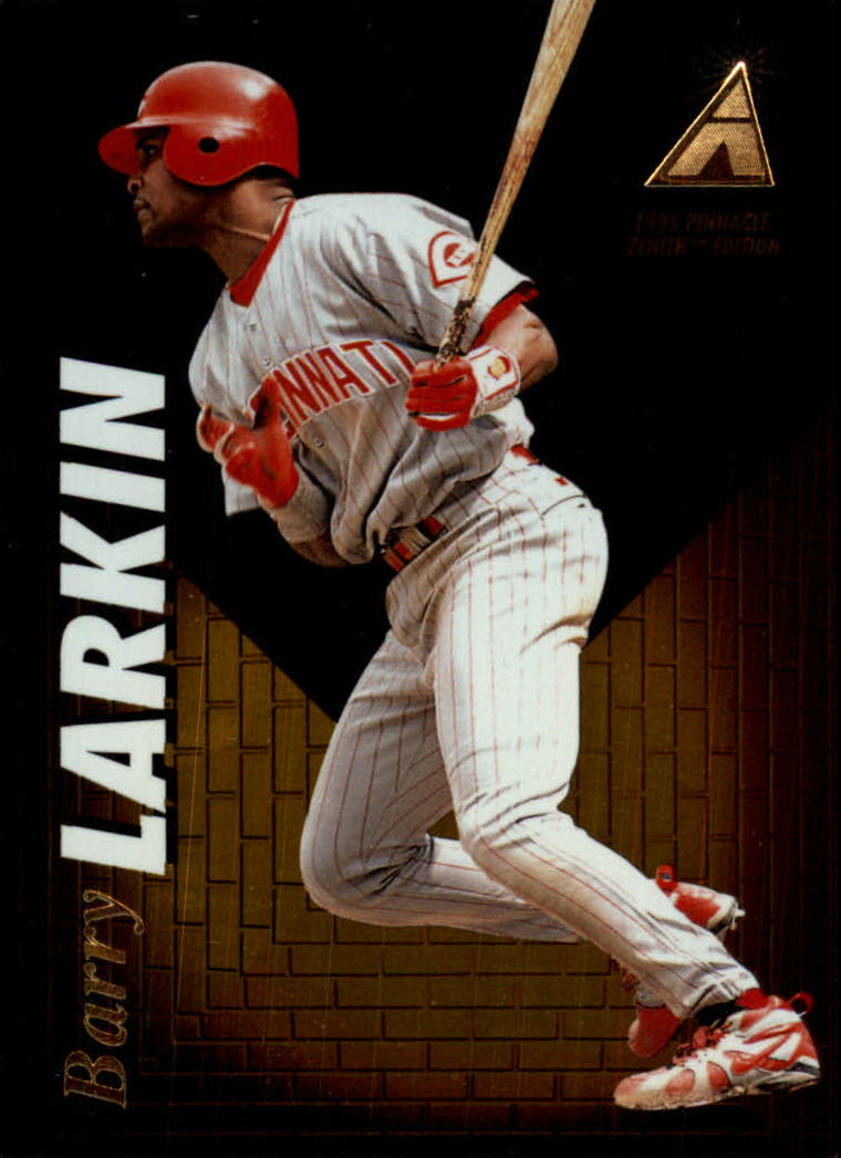 1995 Zenith #4 Barry Larkin
