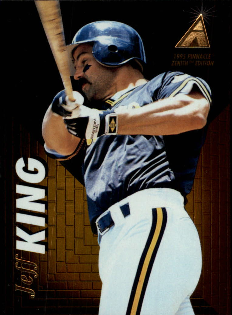 1995 Zenith #50 Jeff King