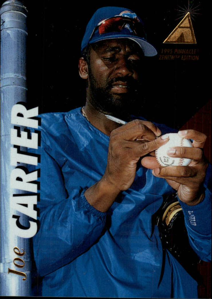 1995 Zenith #53 Joe Carter