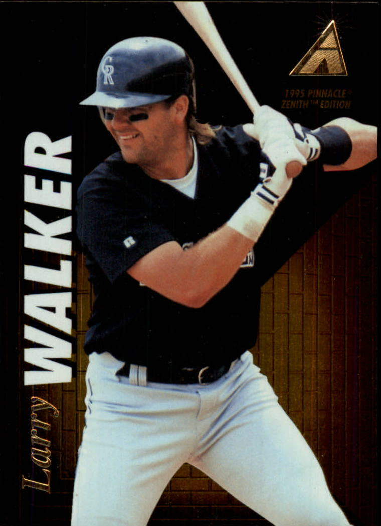 1995 Zenith #67 Larry Walker