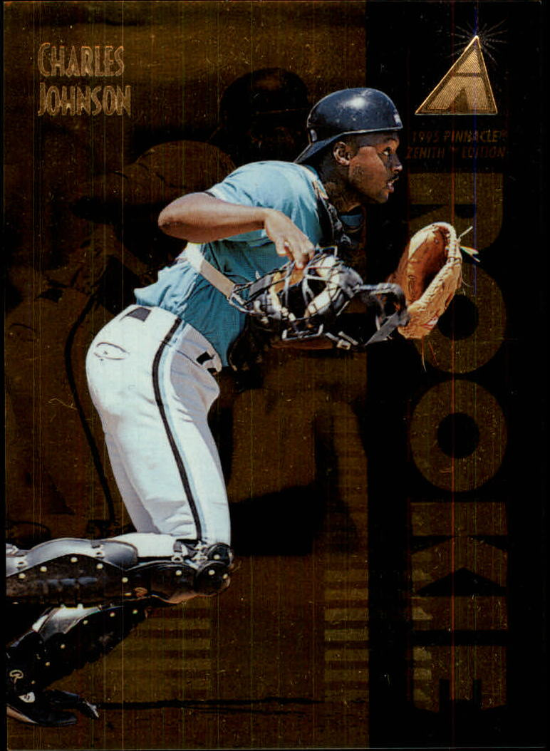 1995 Zenith #133 Charles Johnson