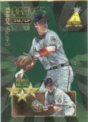 1995 Zenith Rookie Roll Call #3 Chipper Jones