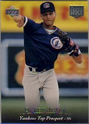 1995 Upper Deck Minors Future Stock #1 Derek Jeter