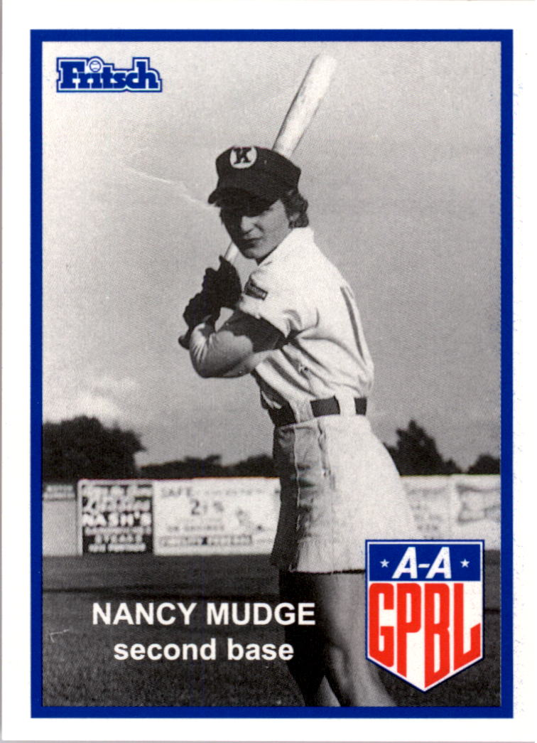 1995-96 Fritsch AAGPBL #139 Nancy Mudge