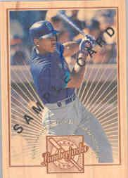 1996 Leaf Limited Lumberjacks Samples #5 Alex Rodriguez
