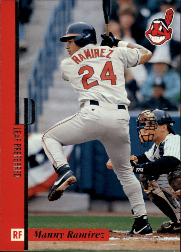 1996 Leaf Preferred #5 Manny Ramirez
